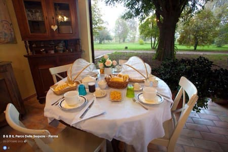 Atmosfera SALVIA in magico parco - Parma - Bed & Breakfast