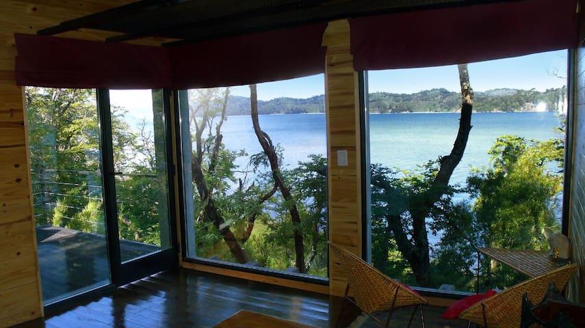Cabaña Costa del Lago Moquehue.