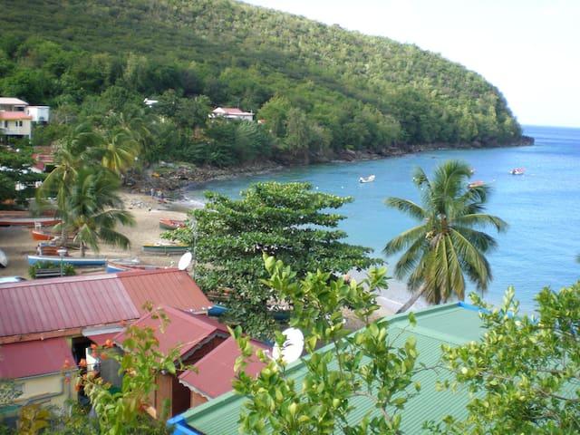 Les Anses-d'Arlet : Bas de villa à Anse Dufour