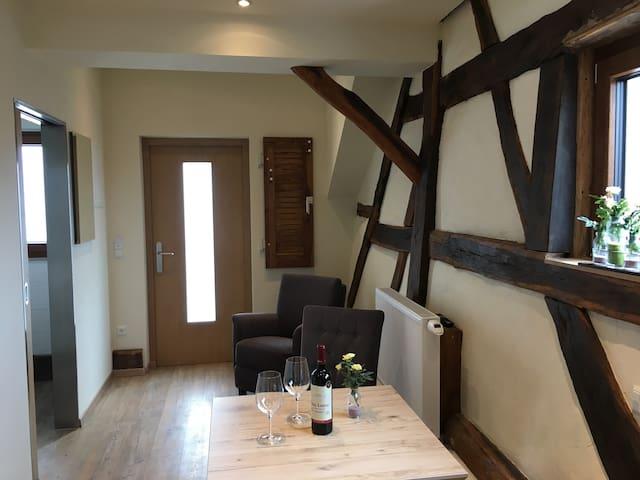 Gasthof zum Ochsen, (Mössingen), Apartment 9, 39qm, 2 Schlafzimmer für 2-4 Personen