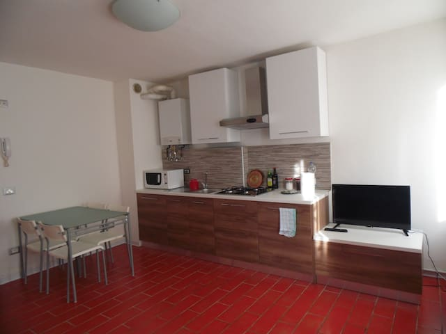 Sala/Cucina. Living room + kitchen
