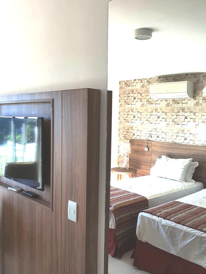 Ótimo apart-hotel com toda comodidade! ITAGUAÍ!!