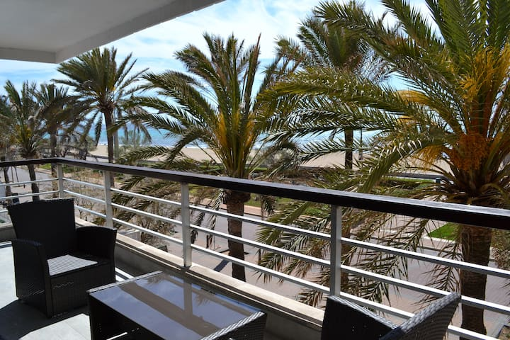 Chill apartment 1st line sea views - Palma - Apartamento