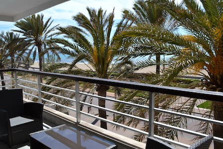 Chill apartment 1st line sea views - Palma