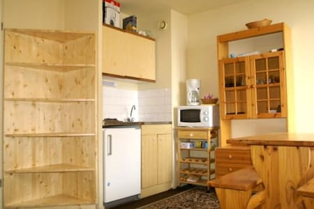 Studio cabine au pied des pistes résidence Cabris - Les Adrets