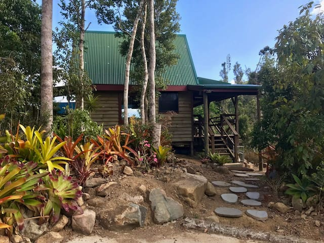 Whitsundays Rainforest Retreat Woodwark