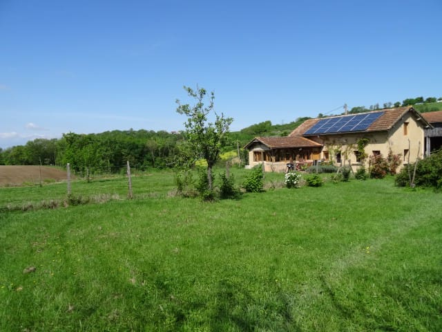 A very calm and charming house in the country - Castelmoron-sur-Lot - Casa