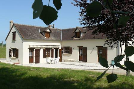 Maison familiale dans petit hameau de Brenne - Lureuil