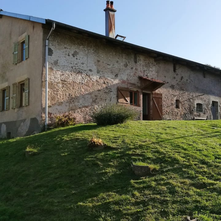 House with 2 bedrooms in Herpelmont, with wonderful mountain view, furnished garden and WiFi - 19 km from the slopes