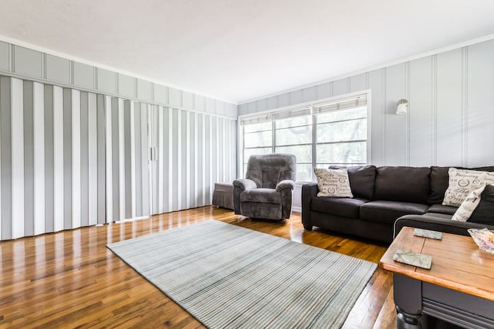 Divider to close off second sleeping area from living area