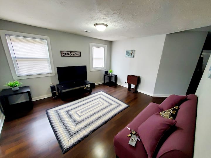 Cozy 2BR Apartment D, 13 min from Downtown
