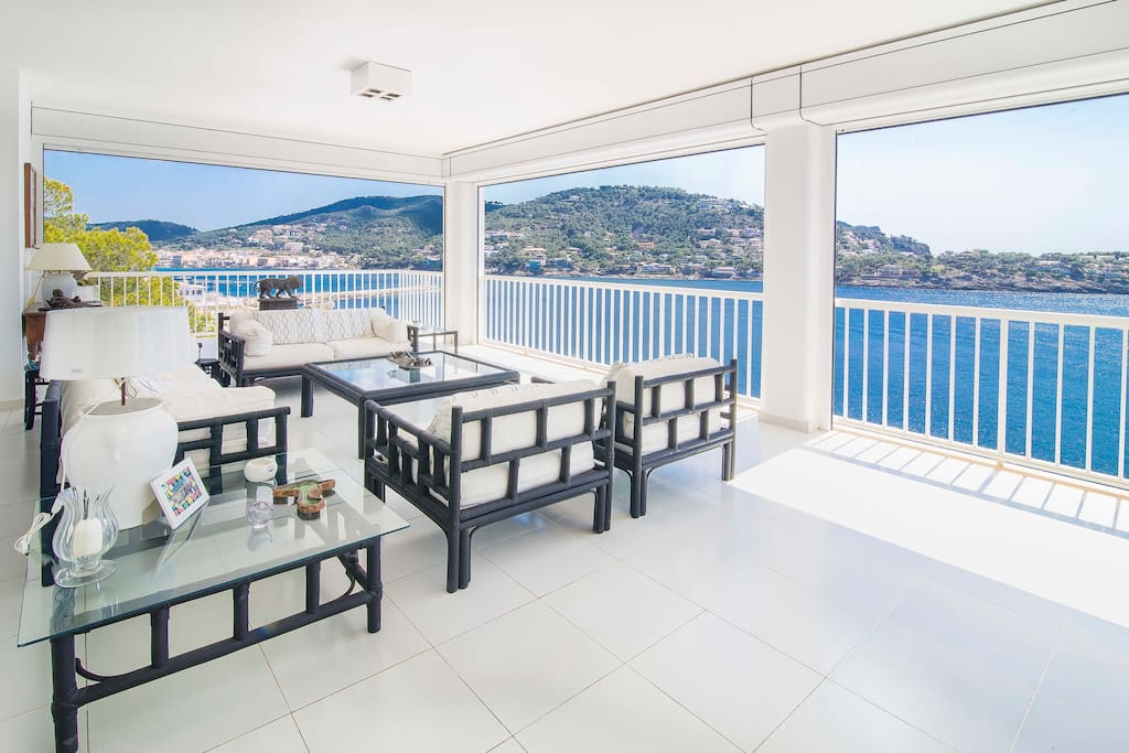 Terraza with sea view