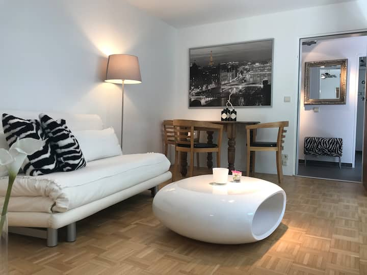 Modernes, neu renoviertes Apartment mit Terrasse