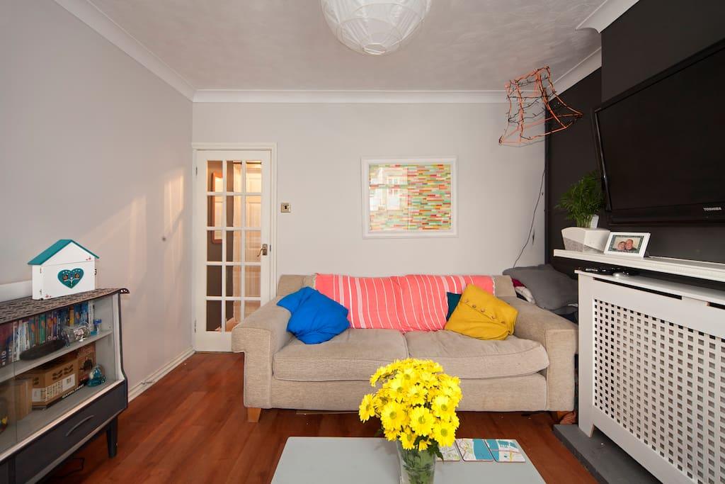 Living room....