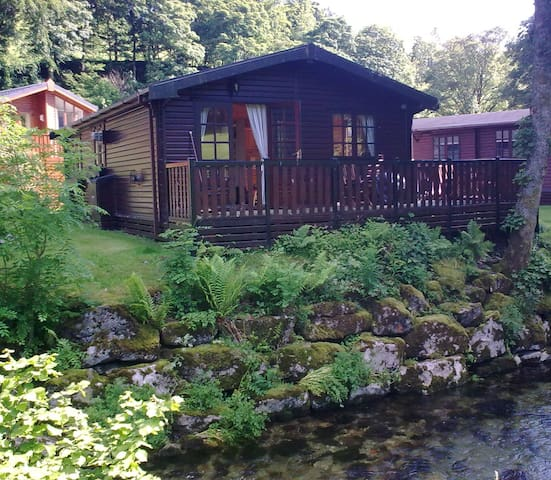 Puddleduck Lodge, log cabin - Cumbria