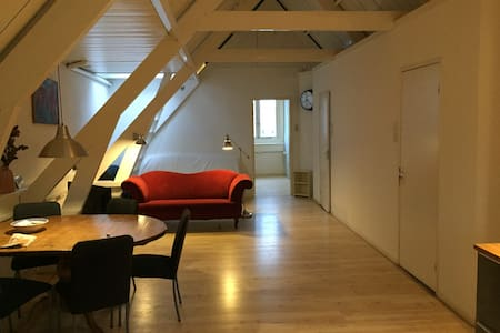 Cosy Loft (80m2, 3td fl) in Old Jewish Center - Amsterdam - Apartment