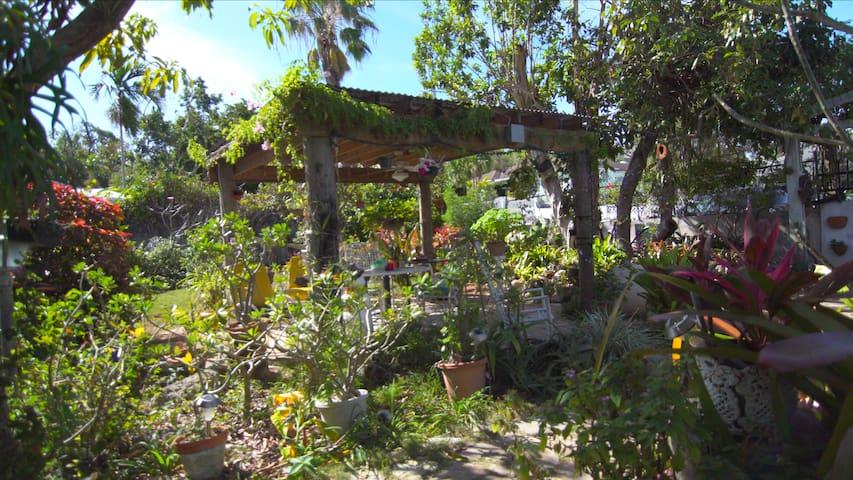 Bahamian Garden Getaway: The Nook! - Nassau - Huis