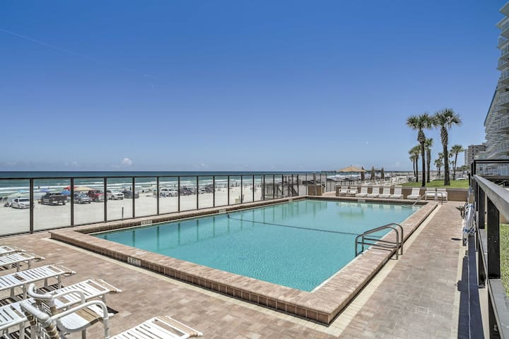 The condo is located in the White Surf Condominiums, featuring a community pool!