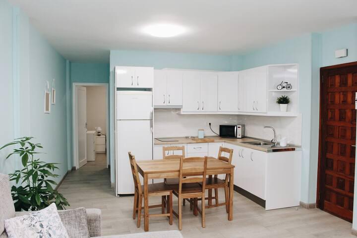 Apartamento con encanto a 2 minutos de la playa.
