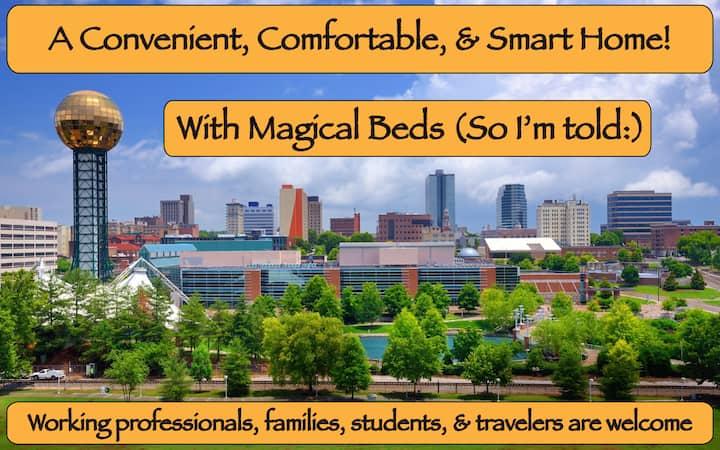 Smart home, Comfy beds, 175 reviews