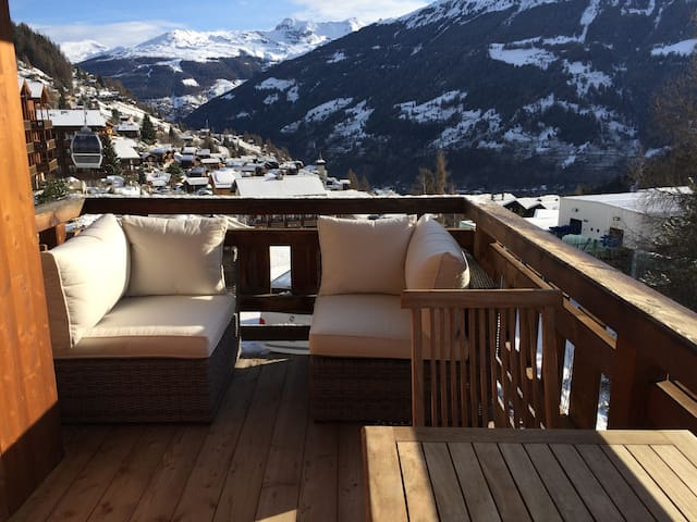 Ski in Ski out Mountain Apartment - Grimentz - Apartment