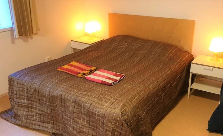 Studio apartment with sauna/terrace
