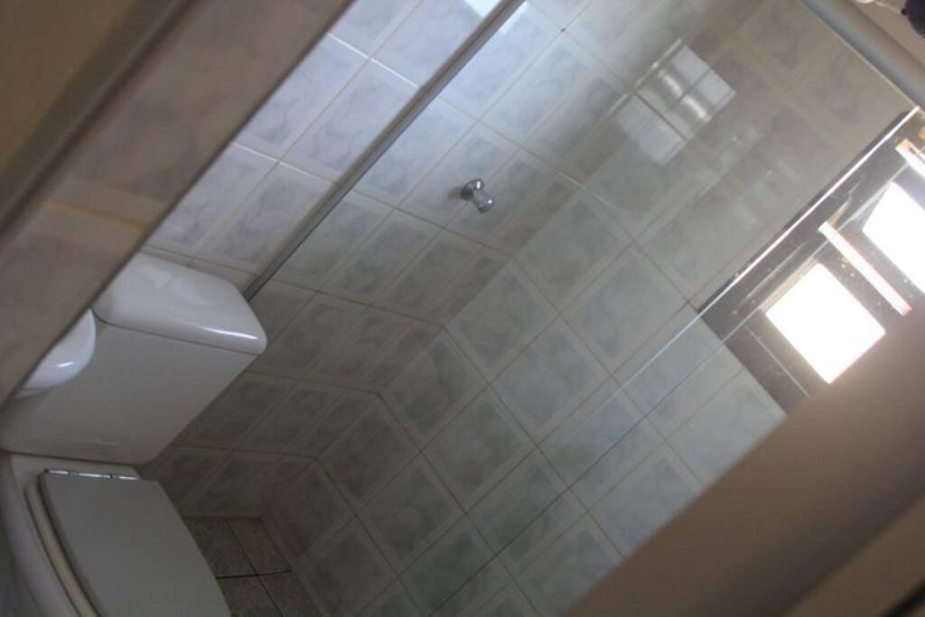 Banheiro da acomodação