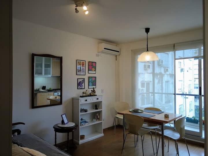 Beautiful two bedrooms apartment in Recoleta!