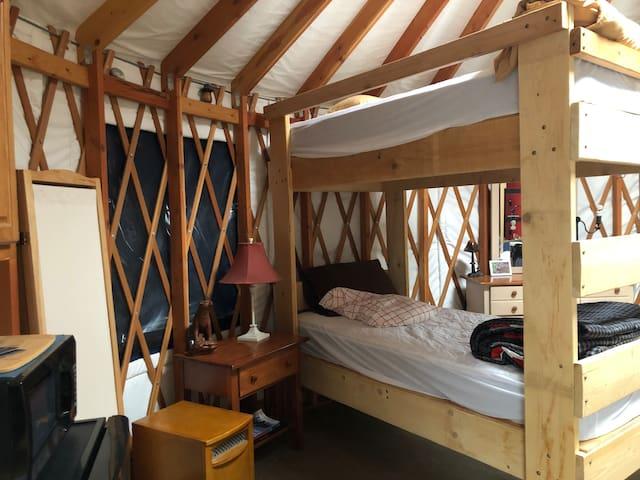 Extra long twin bunks