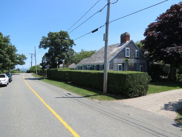 You can see Chatham Harbor from the end of the driveway