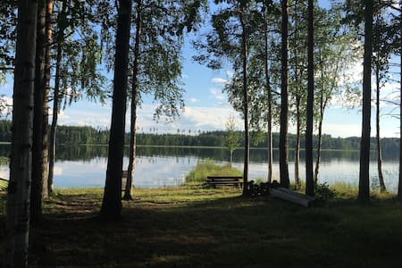 Beautiful cottage, near lake Saimaa - Haus
