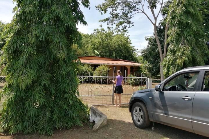 Espacio en casa de campo