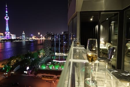 North Bund Riverview romantic Apt.Private party - Sanghaj