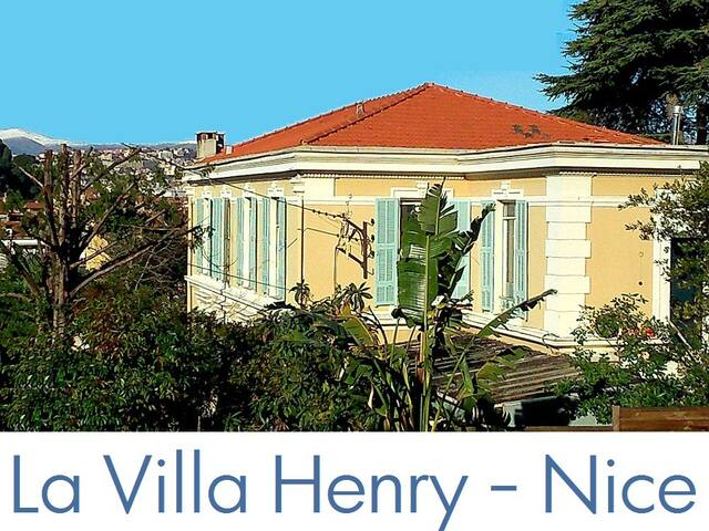 la Villa Henry: the years 1900, Port of Nice - นีช - บ้าน