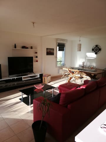 Appartement cosy 70m2 - Carcassonne