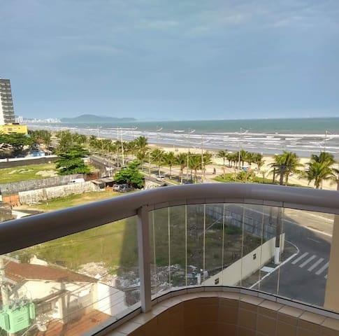 Apto. novo-frente ao mar-wi fi-prédio com piscina