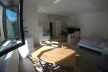 Gemütliches 1 Zimmer Loft +Terrasse