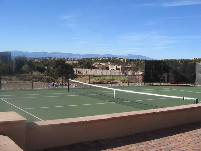 For Families & Small Groups, Mtn Views, Tennis!