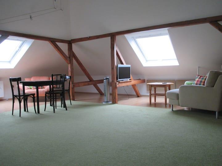 Schöne Dachgeschoßwohnung in Weimar