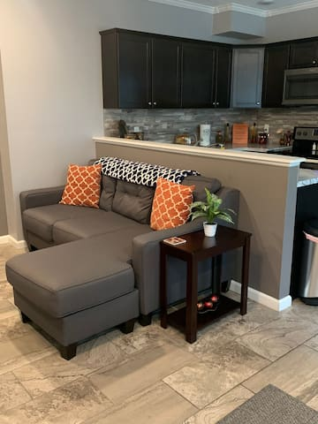 2nd couch in Main Living Room