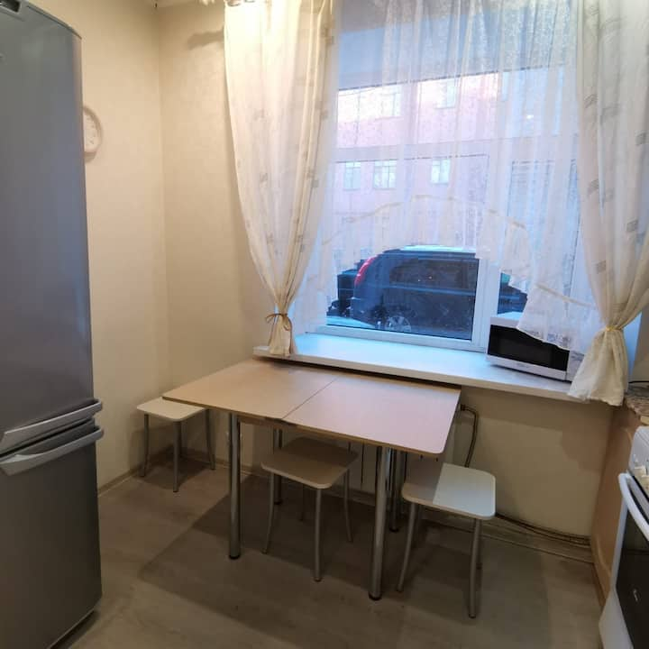 Удобная двухкомнатная квартира в центре Выборга