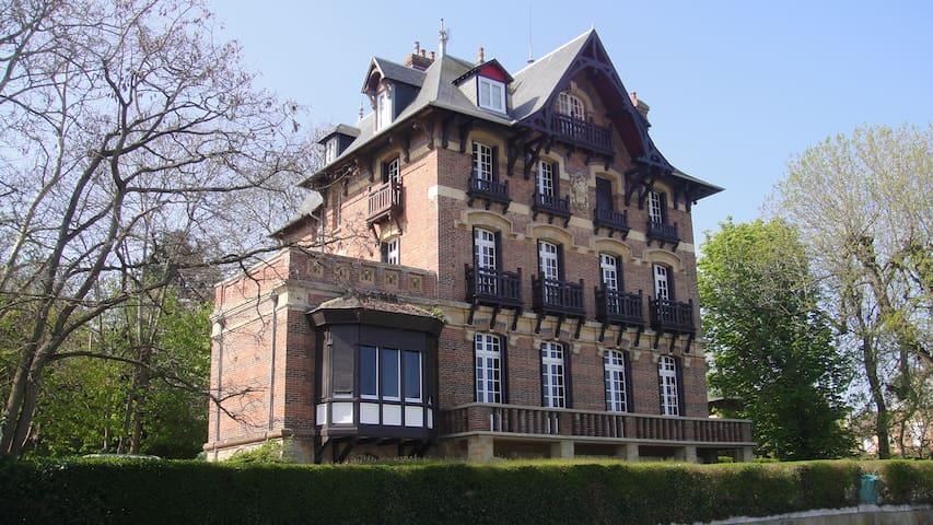 T3 Villa anglo-normande vue mer - Villers-sur-Mer - Apartment