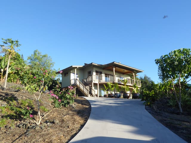 Newly Available: Entire, Lovely Home, Ocean View - Kailua-Kona - Huis
