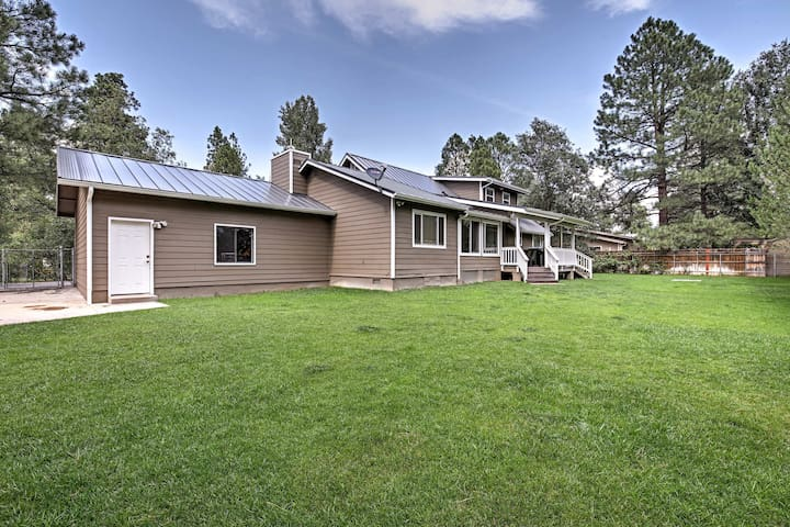 Lakeside Home w/Game Room, Yard, Deck & Fireplace!