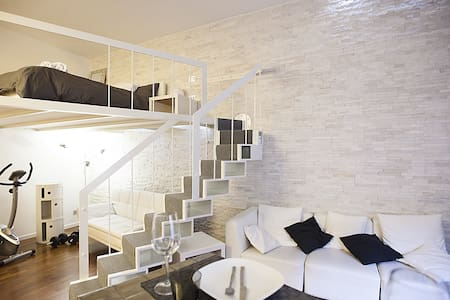 WHITE: Gym & Relax Apartment Center Milan - Milan - Loft