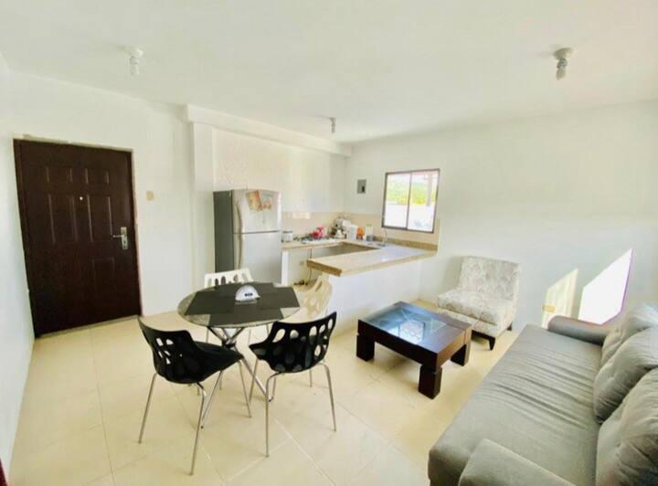 Acogedora Suite con terraza! y seguridad 24/7