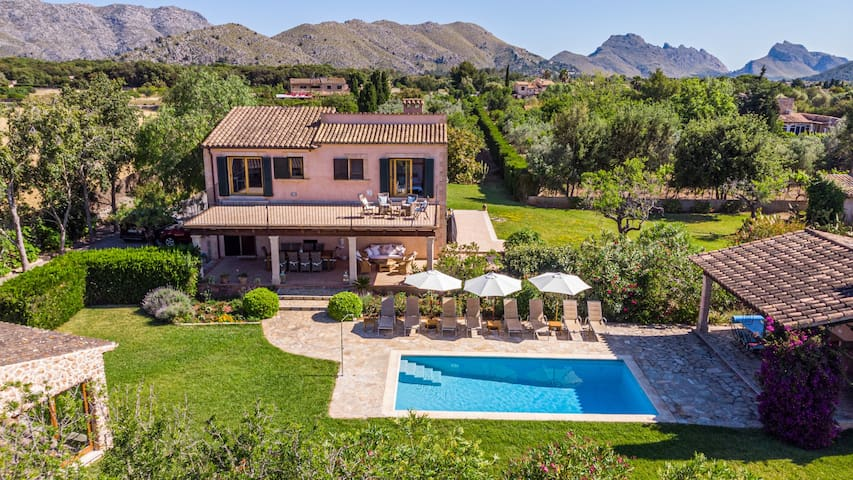5 bedroom villa perfect for large family groups