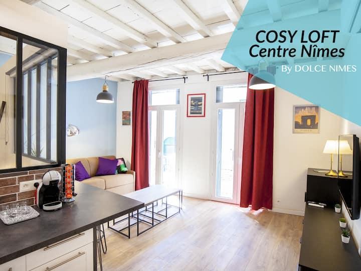 "COSY LOFT Centre Nîmes - By ""DOLCE NIMES"""