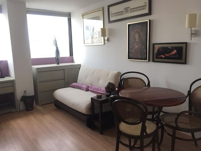 Comfortable studio in well connected neighborhood
