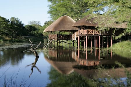Room in Luxury Catered Lodge - Hluhluwe